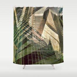 Mix city Shower Curtain