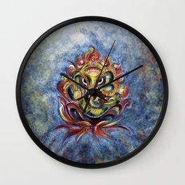 AUM Ganesha Wall Clock