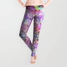 Centaurus Cosmic Mandala Leggings