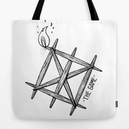 THE GAME_WHITE Tote Bag