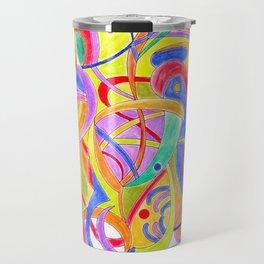 The big fish (pastel colors) Travel Mug