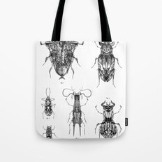 Entomologic Bones Tote Bag