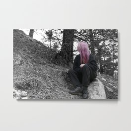 Mountain exploration Metal Print