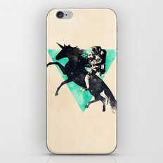 Ride the universe iPhone Skin