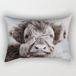 HIGHLAND CATTLE CALF ALF Rectangular Pillow