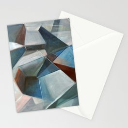 Spacial Abstraction II Stationery Cards