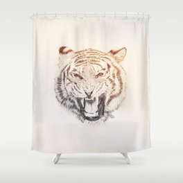 Timmy the Tiger Shower Curtain