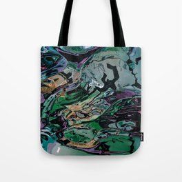 The hulk exploded Tote Bag