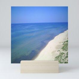 Beach Side View Mini Art Print