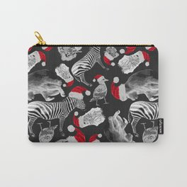 Animal Santas Carry-All Pouch