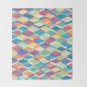 Colorful Squares Pattern by alicewieckowska