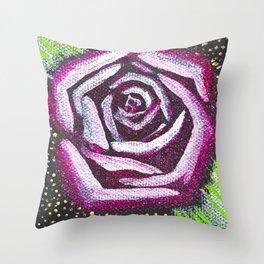 Glamour Rose - Mazuir Ross Throw Pillow