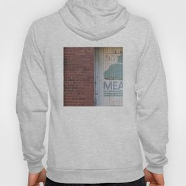 Clouds and brick Leith Edinburgh Hoody