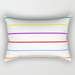 rows Rectangular Pillow