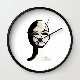 Power face Wall Clock