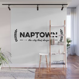 Naptown | the city that sleeps | Indianapolis Wall Mural
