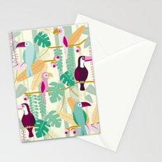 Rainforest birds Stationery Cards