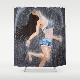 Letting it go Shower Curtain