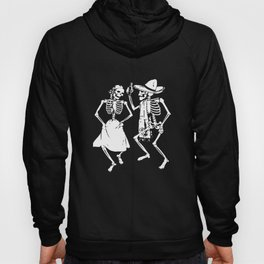 Skeletons Dancing Day Of Dead Dia De Los Muertos Halloween Party Skeleton   t-shirts Hoody