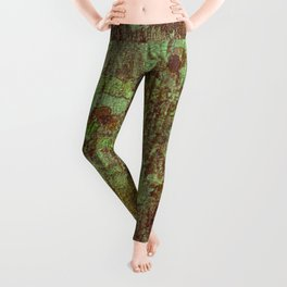 Textured Bark Leggings