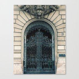Gated Door Canvas Print
