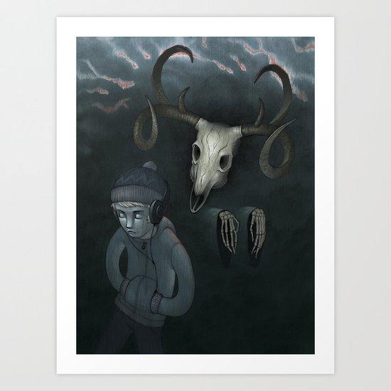 Hear No Evil Art Print