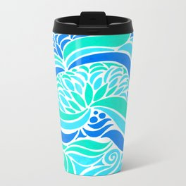 Makin Waves :: Color Therapy Collection :: Metal Travel Mug