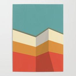 Modernist Angles Poster