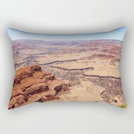 Awesome Grand Canyon View Rectangular Pillow