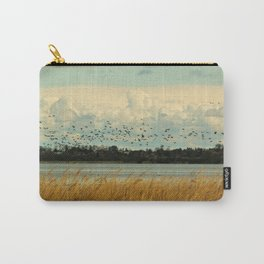 Birds by the Dessower Sea in Mecklenburg Vorpommern East Germany Carry-All Pouch