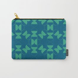 Half Circles Carry-All Pouch