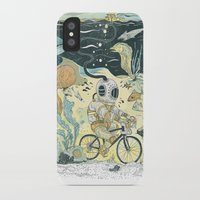 cycling iPhone & iPod Cases featuring Cycling in the Deep by Dushan Milic