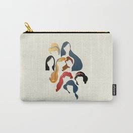 Royal Hair Carry-All Pouch