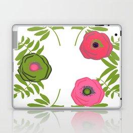 tropical roses Laptop & iPad Skin