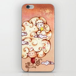 Day Dreaming iPhone Skin