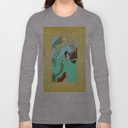 Mermaids At Play Long Sleeve T-shirt