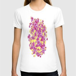 Purple-Pink Flower Dreamscape T-shirt