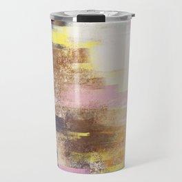 Color strokes Travel Mug