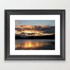 Light Up The Sky Framed Art Print