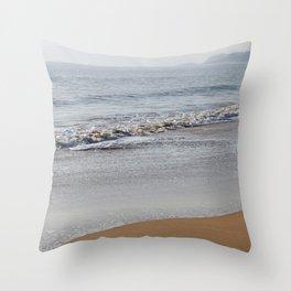 Beach_waves Throw Pillow