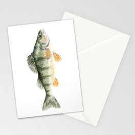 Yellow Perch Stationery Cards
