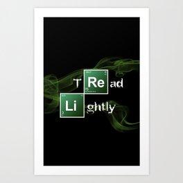 BrBa Tread Lightly Art Print