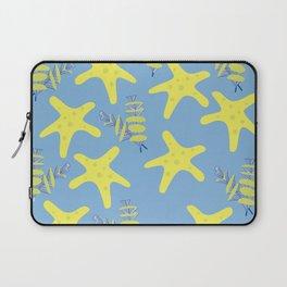 Pattern of sea creatures Laptop Sleeve