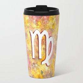 Zodiac sign : Virgo Travel Mug