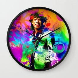 M. Jagger Wall Clock
