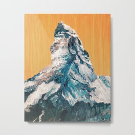 Matterhorn at Sunrise Metal Print