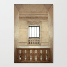 Inside the New York Public Library Canvas Print