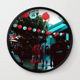 Little Tokyo in Motion Wall Clock