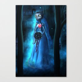 Emilies Mansion Woods by Topher Adam 2017 Canvas Print