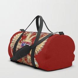 Russian Coat Of Arms Duffle Bag